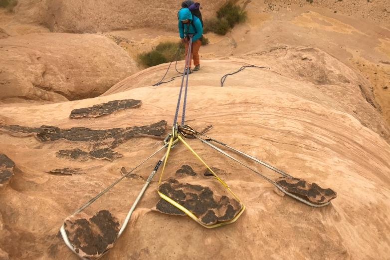 Descending on Hammad's Route